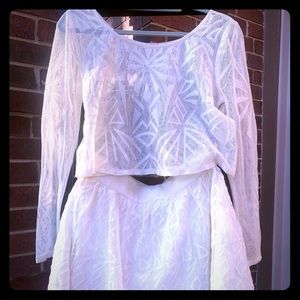 FP 2pc in creme color size M